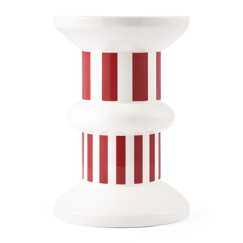 Funfair Vase - 22cm - Lollipop Red