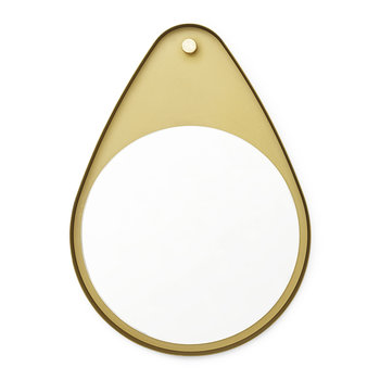 Tivoli Peacock Mirror - Brass