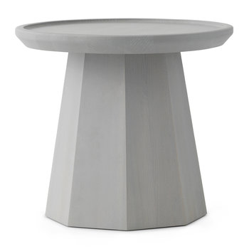 Pine Side Table - Small - Light Grey