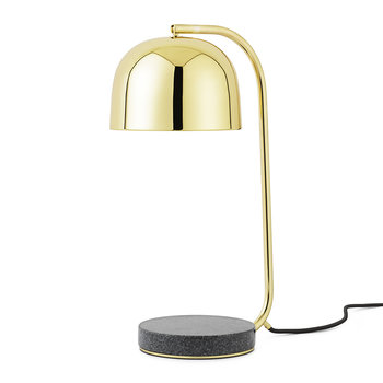 Grant Steel Table Lamp - Brass