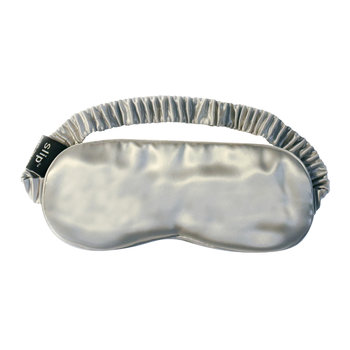 Pure Silk Eye Mask - Silver