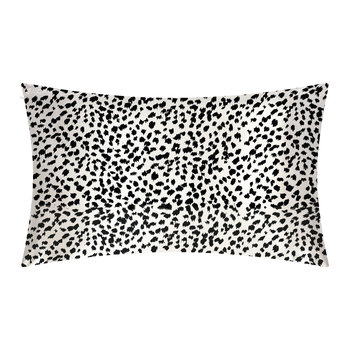 Limited Edition Leopard Print Pillowcase - 51x76cm - Black