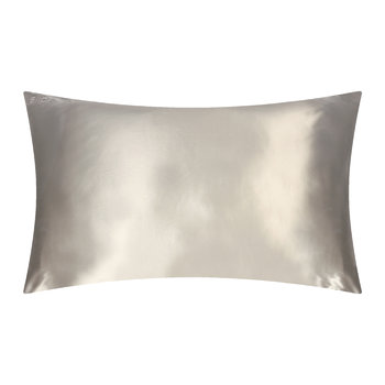 Pure Silk Pillowcase - Silver - 51x76cm