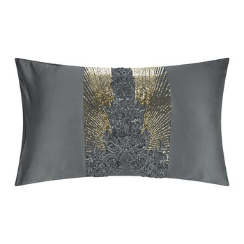Kila Pillowcase - Gunmetal - 50x75cm