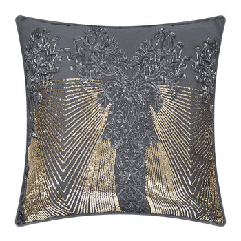 Kila Bed Pillow - Gunmetal - 55x55cm