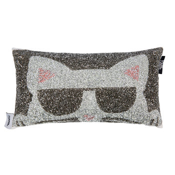 Choupette Bed Cushion - 20x35cm - Multi