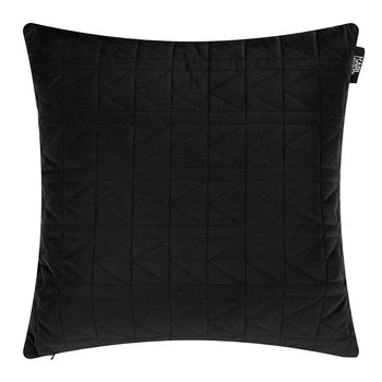 Quilted K Bed Pillow - 45x45cm - Black