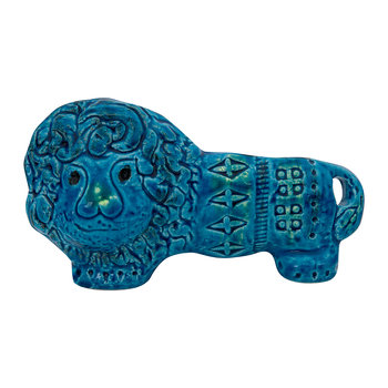 Rimini Blu Lion Figure