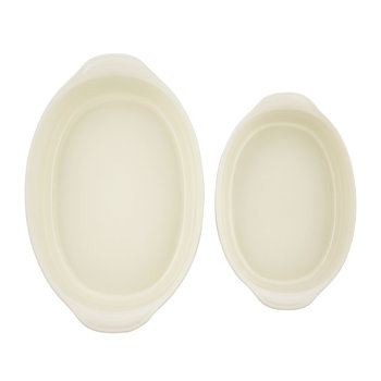 Ultime 2 Piece Oval Oven Dish Set - Clay