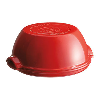 Round Bread Baker - Red