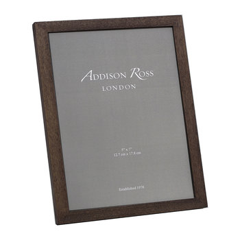 Alder Photo Frame - Walnut