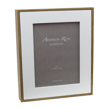 Ash Photo Frame - White