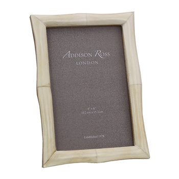 White Bone Photo Frame - 4x6""