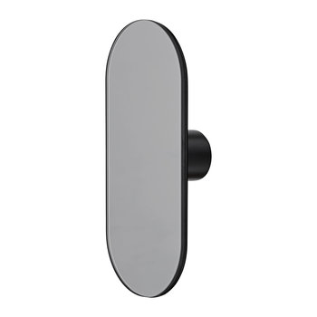 Ovali Mirror Wall Hook - Black