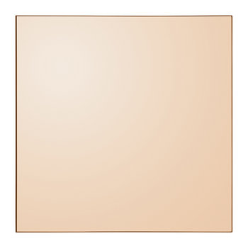 Quadro Square Wall Mirror - Amber