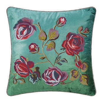 Tivoli Gardens Cushion - Teal - 50x50cm