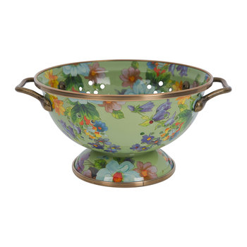 Flower Market Colander - Small - Green