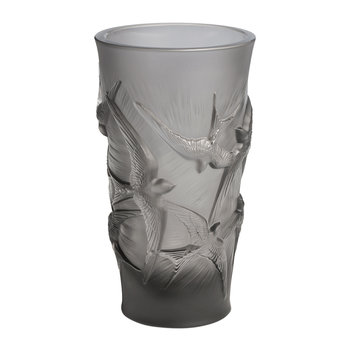 Hirondelles Vase - Small - Gray