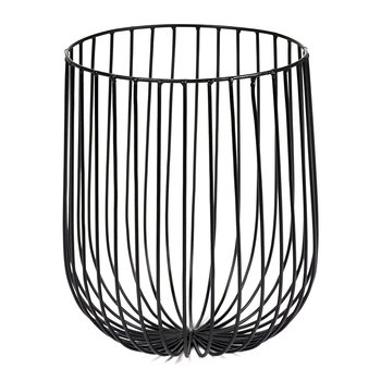 Catu Wire Basket  - Black - 25cm