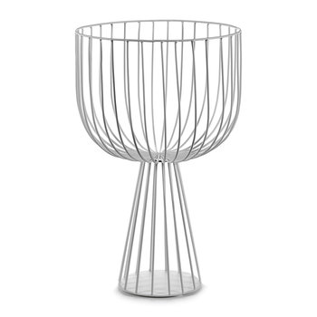 Catu Raise Wire Basket - White - 40cm