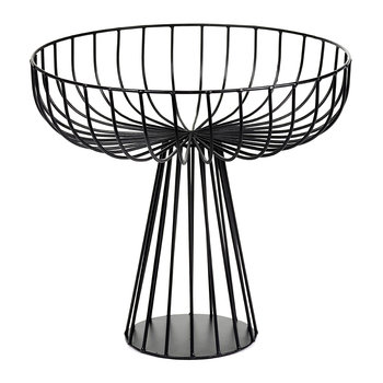 Catu Raise Wire Basket - Black - 28cm