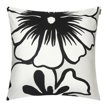 Elakoon Elama Pillow Cover - Light Gray/White