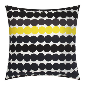 Rasymatto Pillow Cover - White/Black