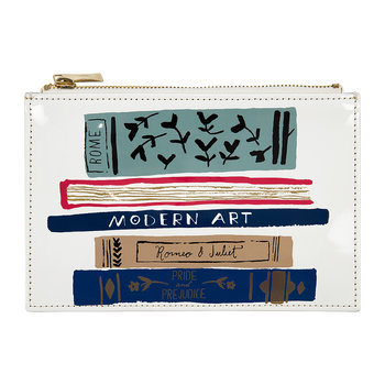 Pencil Pouch - Stack of Classics
