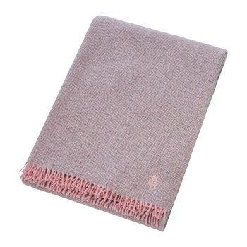 Must Relax Virgin Wool Blanket - 130x190cm - Rose