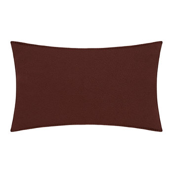Soft Fleece Pillow - 30x50cm - Wine
