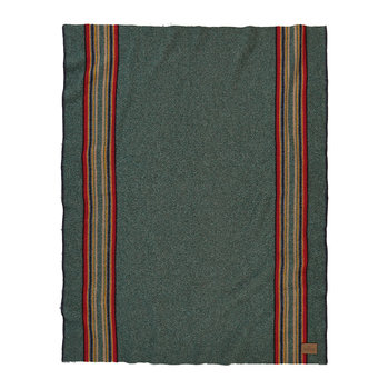Yakima Throw - Green Heather Mix