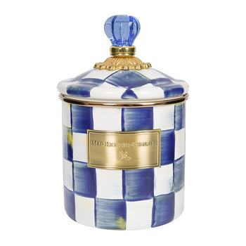 Royal Check Canister
