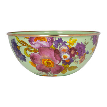 Flower Market Everyday Bowl - Green
