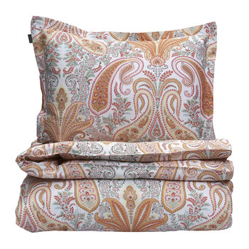 Key West Paisley Duvet Cover - Tender Peach