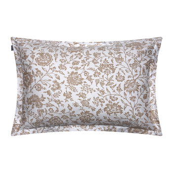 Croydon Flower Pillowcase - 50x75 - Dry Sand