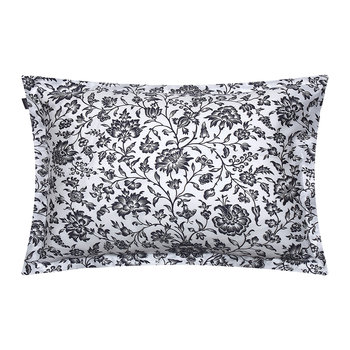 Croydon Flower Pillowcase - 50x75 - Sateen Blue