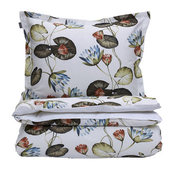 Water Lily Duvet Cover - Multicolour