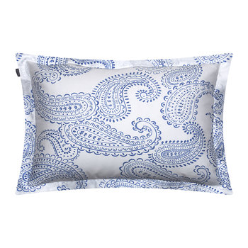 Shadow Paisley Pillowcase - 50x75 - Capri Blue