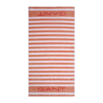 Rugby Beach Towel - 100x180 - Peach Bud
