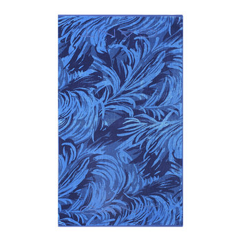 Waves Beach Towel - 100x180 - Poseidon Blue