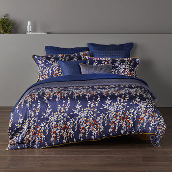Morello Blossom Duvet Set - Midnight