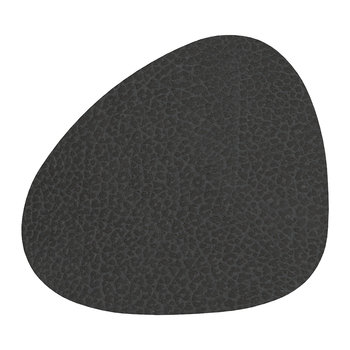 Hippo Curve Drinks Coaster - Black Anthracite