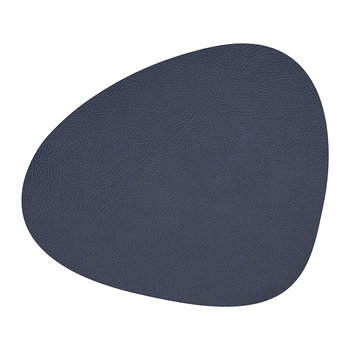 Hippo Curve Table Mat - Navy Blue