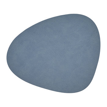 Hippo Curve Table Mat - Light Blue