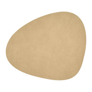 Hippo Curve Table Mat - Sand