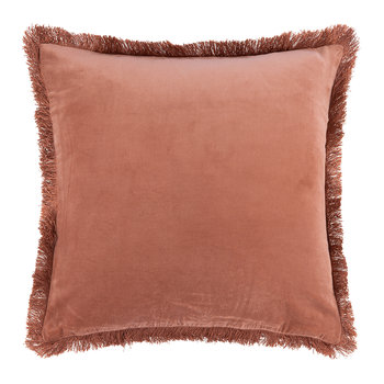 Fringes Pillow Cover - 50x50cm - Kiss