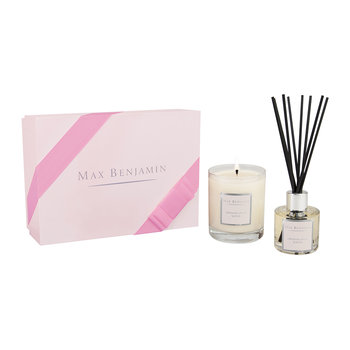 Candle and Diffuser Gift Set - French Linen Water