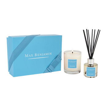 Candle and Diffuser Gift Set - Blue Azure