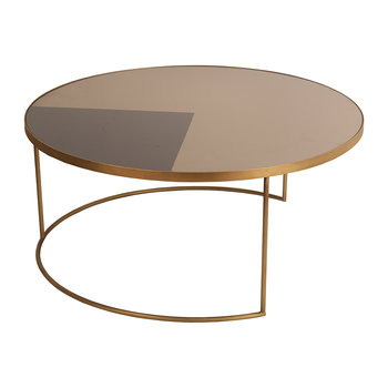 Geometric Bronze Coffee Table