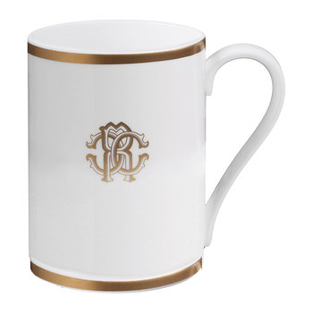 Silk Gold Fine Bone China Mug